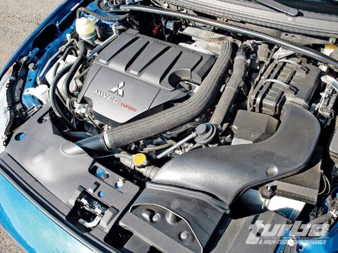 2009 Mitsubishi Lancer Ralliart - Turbo & High-Tech