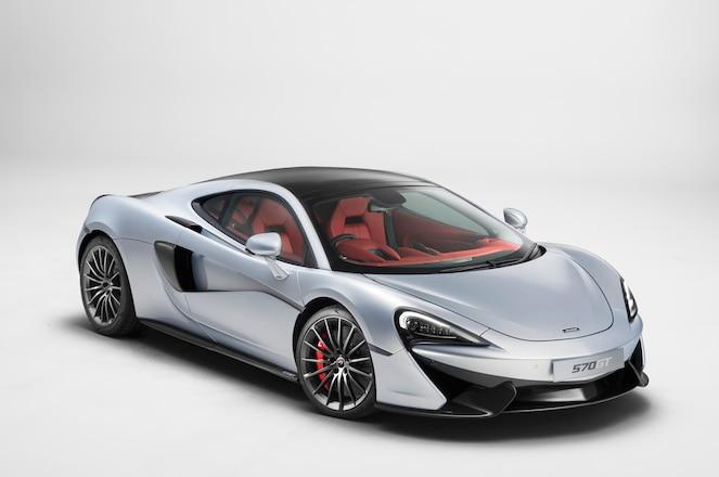 McLaren 570GT front three quarters