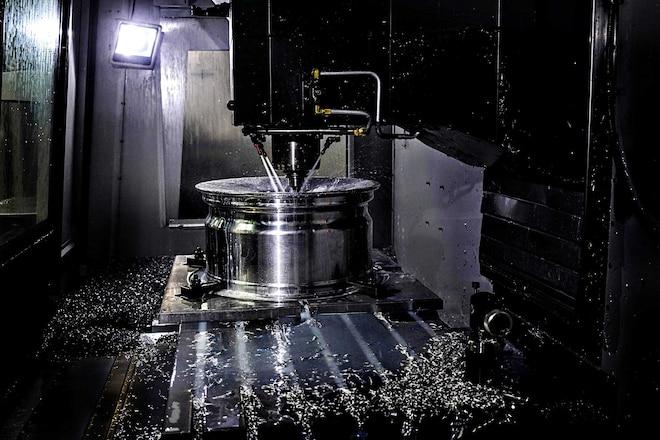 Forgeline Wheels Milling Machine