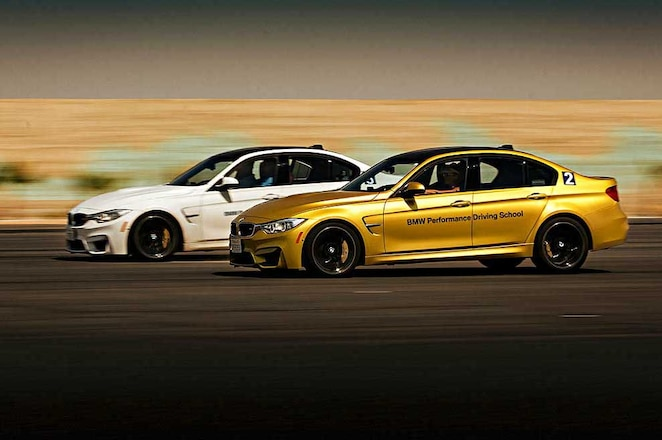 BMW Performance Center West M3s