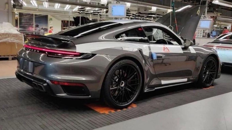 2020 Porsche 911 Turbo 992 Leaks On Instagram