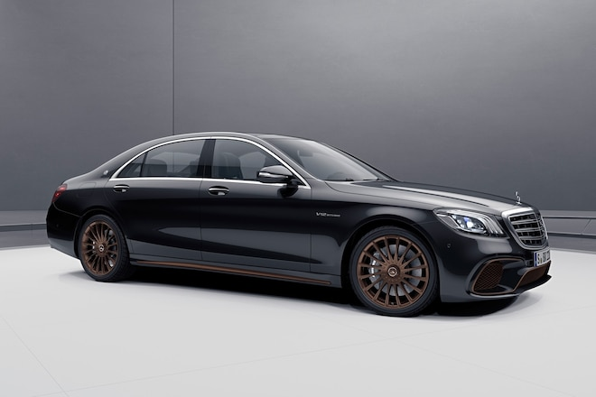2019 Mercedes AMG S 65 Final Edition 2