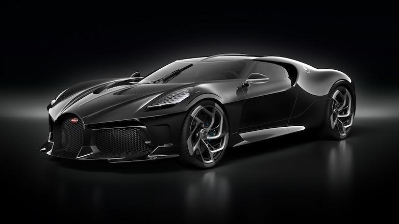 Bugatti La Voiture Noire front three quarters