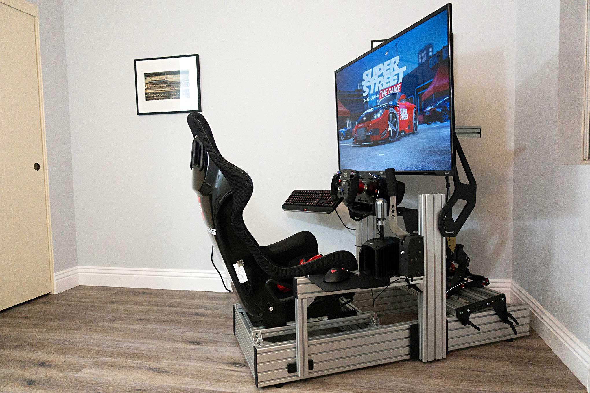 First Look: Sim Labs P1 Sim Racing Cockpit