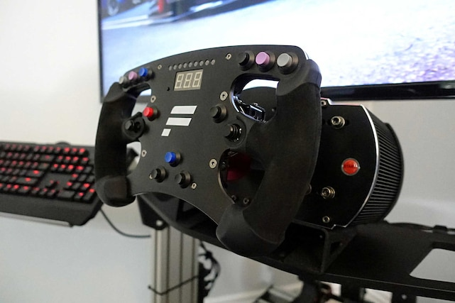 First Look: Sim Labs P1 Sim Racing Cockpit
