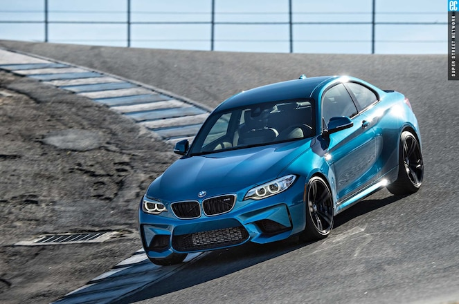 2016 Bmw M2 Driver Side Front View