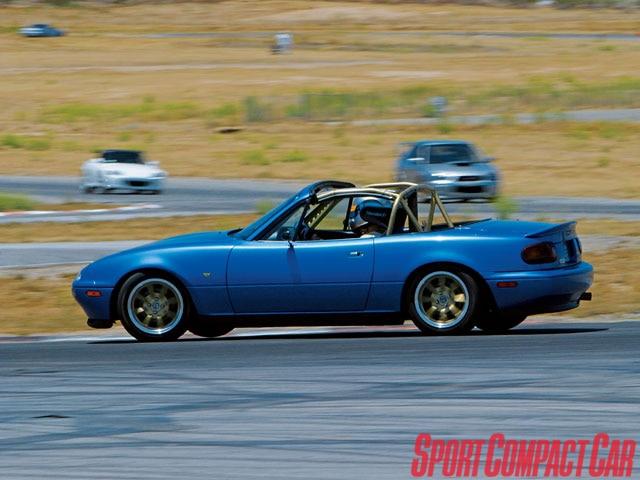 Project Mazda Miata Time Attack Part 1 Sport Compact Car