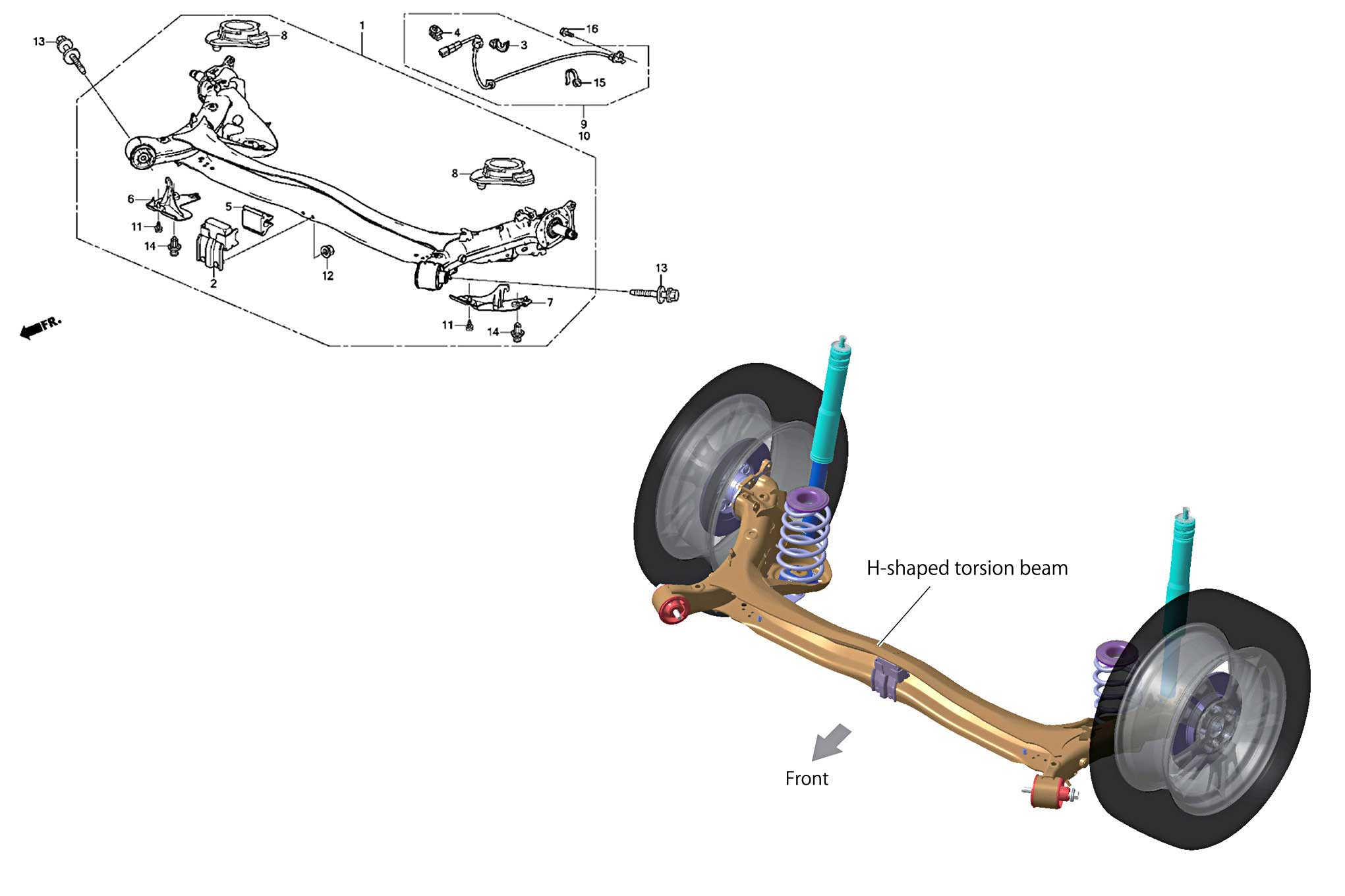 30 Saturn Rear Suspension Diagram