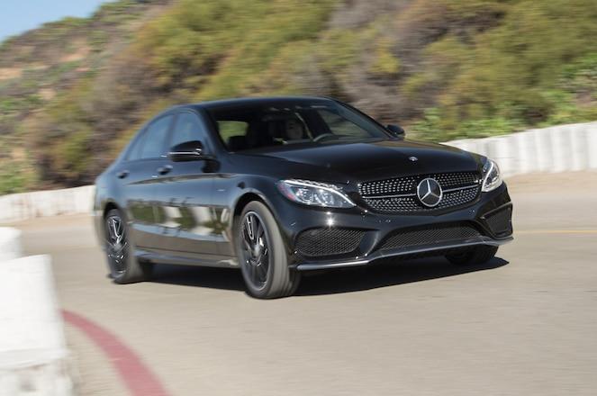 2016 Mercedes Benz C450 AMG 4Matic front three quarter turn