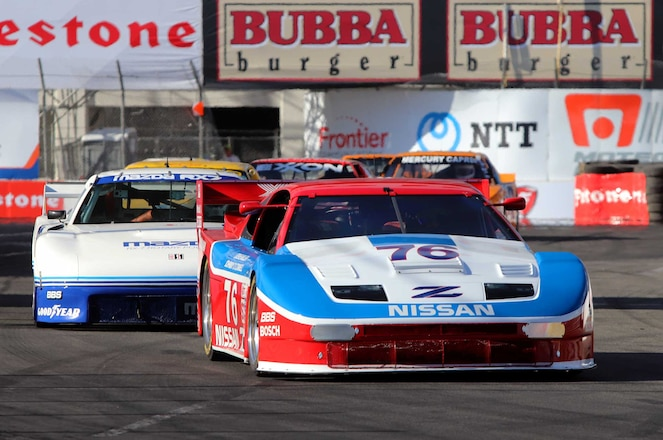 Long Beach GP 2019 Old School GT Imports Nissan 300ZX Mazda RX 7