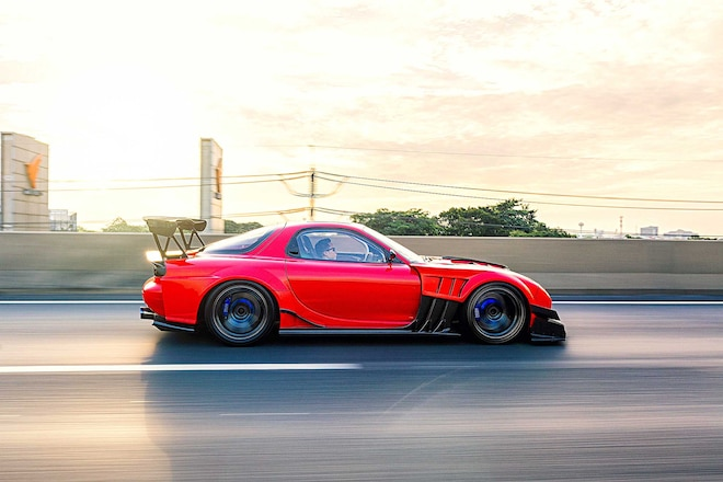 1993 Mazda Rx 7 TCP Magic TT Widebody Kit
