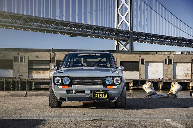 1972 Datsun 510 BMW E30 Headlights