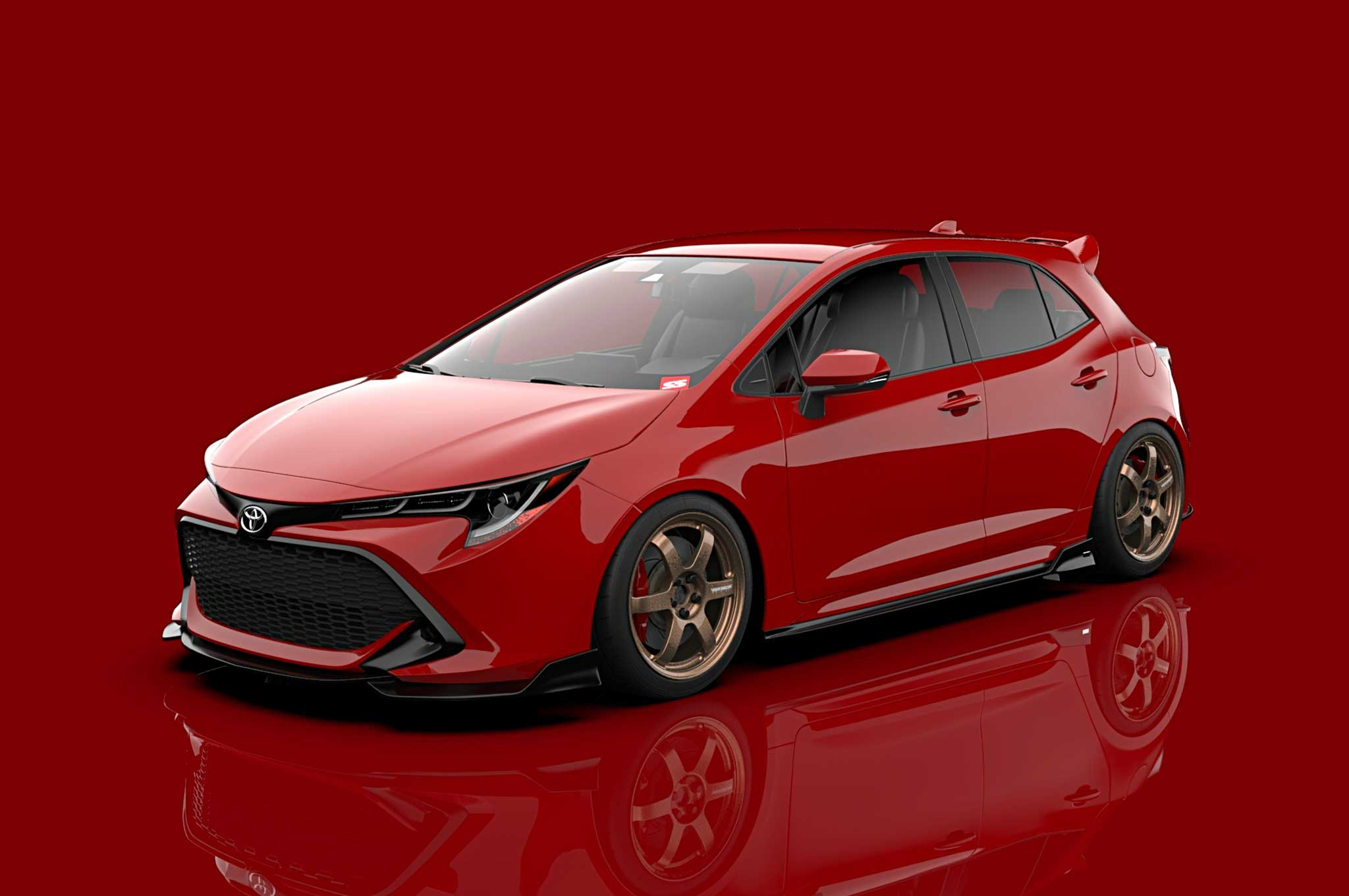 2019 Toyota Corolla Xse Red Light Special