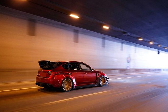 2012 Subaru WRX Launsport Rear Hatch Wing