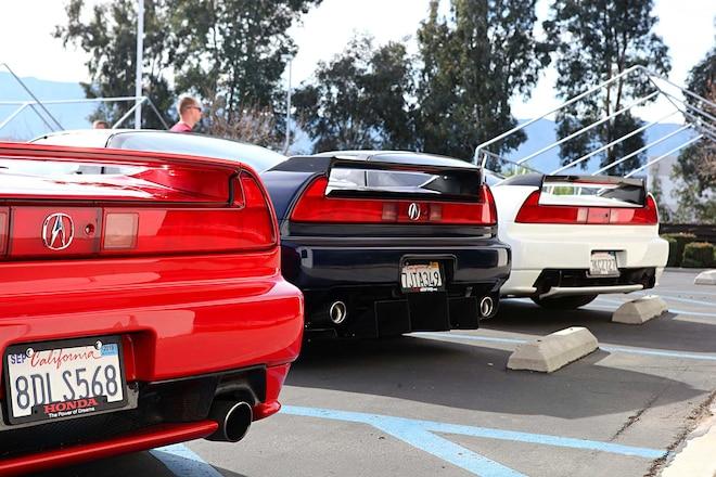 Throwback Meet 2019 Acura Nsxs