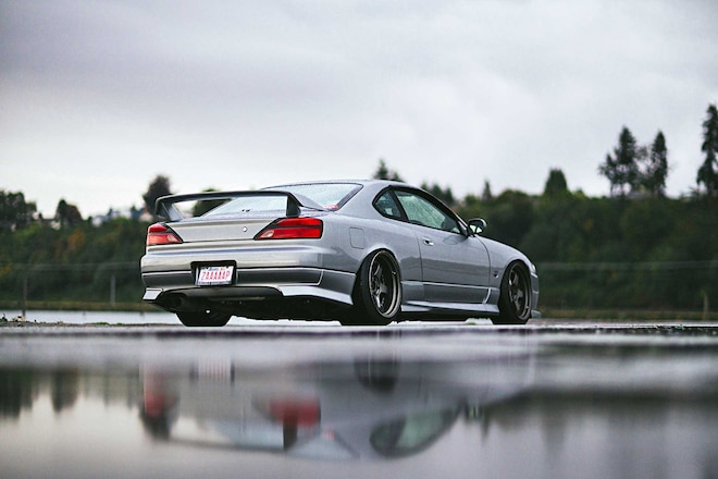 1999 Nissan Silvia S150spec R Rear Pods