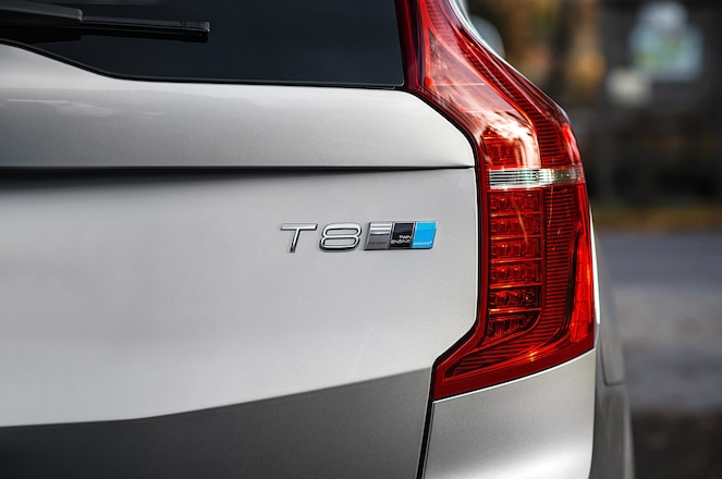 2016 Volvo XC90 T8 Twin Engine Polestar badge