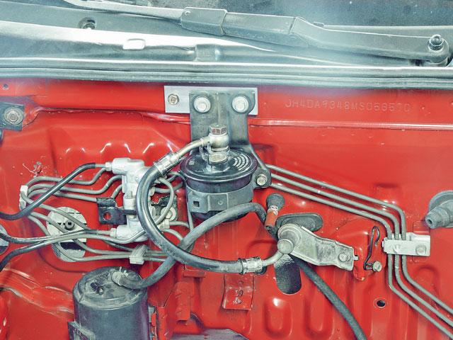 Oh K! - Step by Step K Swap Acura Integra Photo & Image Gallery | Acura Integra Fuel Filter |  | Super Street