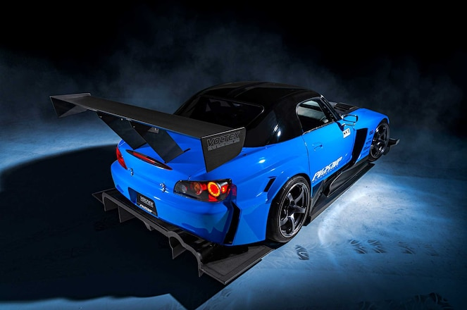 2005 Honda S2000 Voltex Type 13 Rear Wing