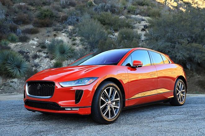 2019 Jaguar I Pace Driver Side Front View