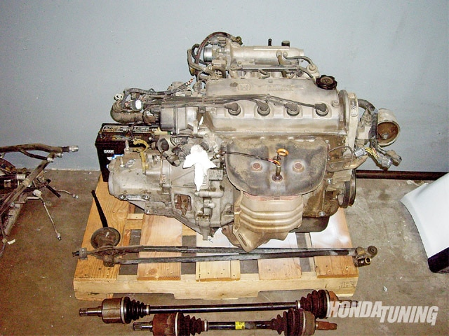 Honda J-Series - Engine Swap - Honda Tuning Magazine