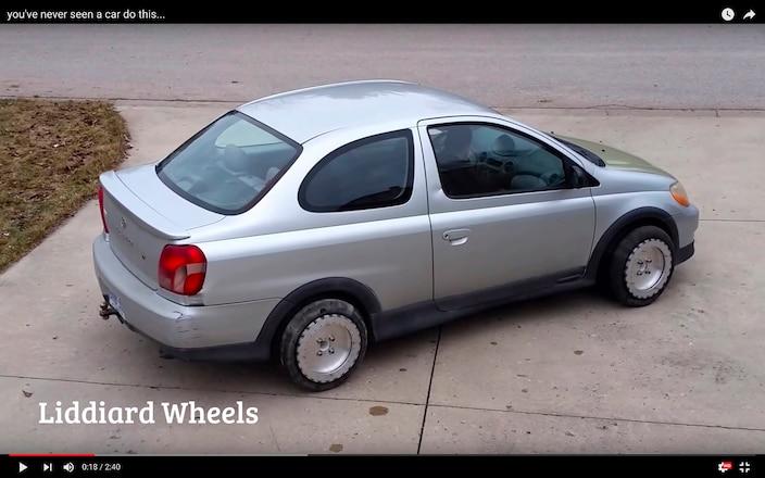 Liddiard Omni Directional Wheels