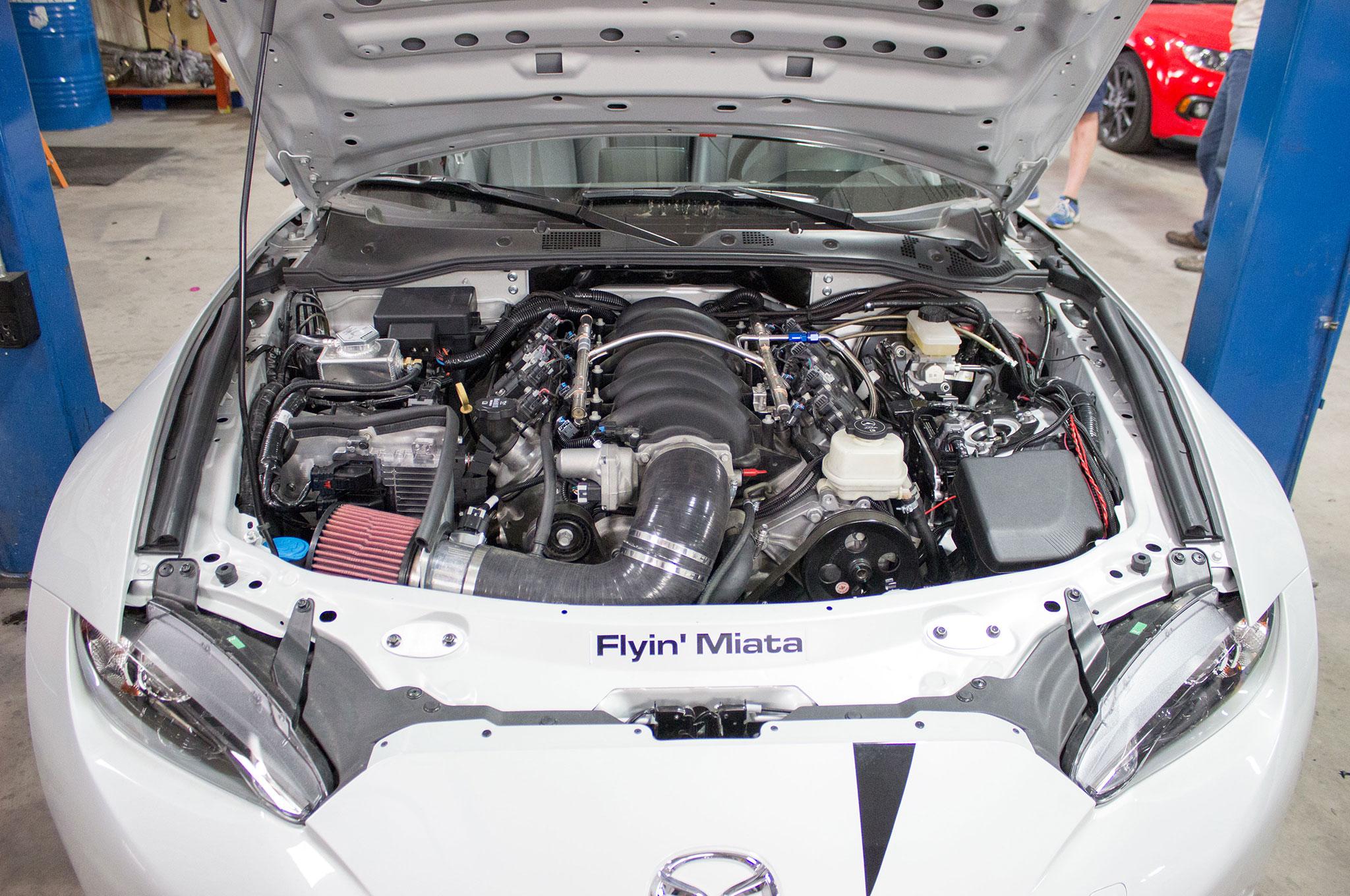 Flyin' Miata Ready to Convert Your 2016 Mazda Miata to V-8 Power on