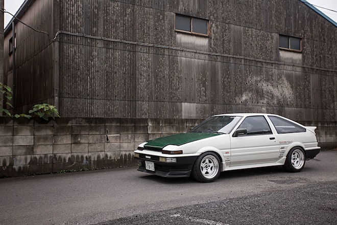 1986 Toyota Sprinter Trueno Work Meister Cr01 Wheels