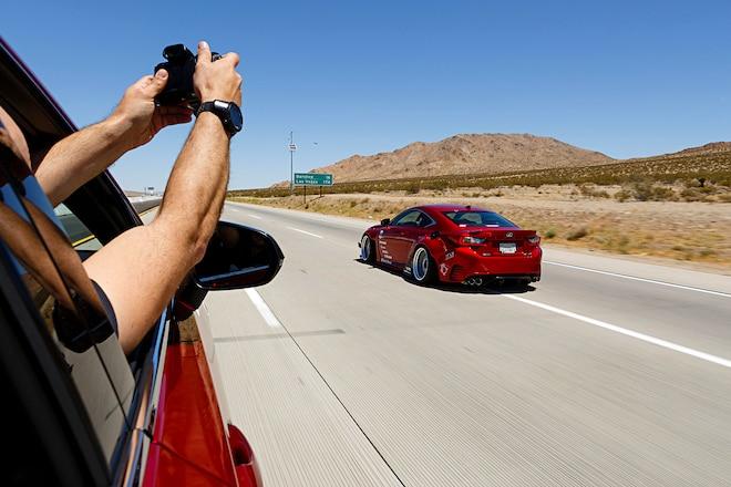 Super Street 2 Vegas Lexus Rc