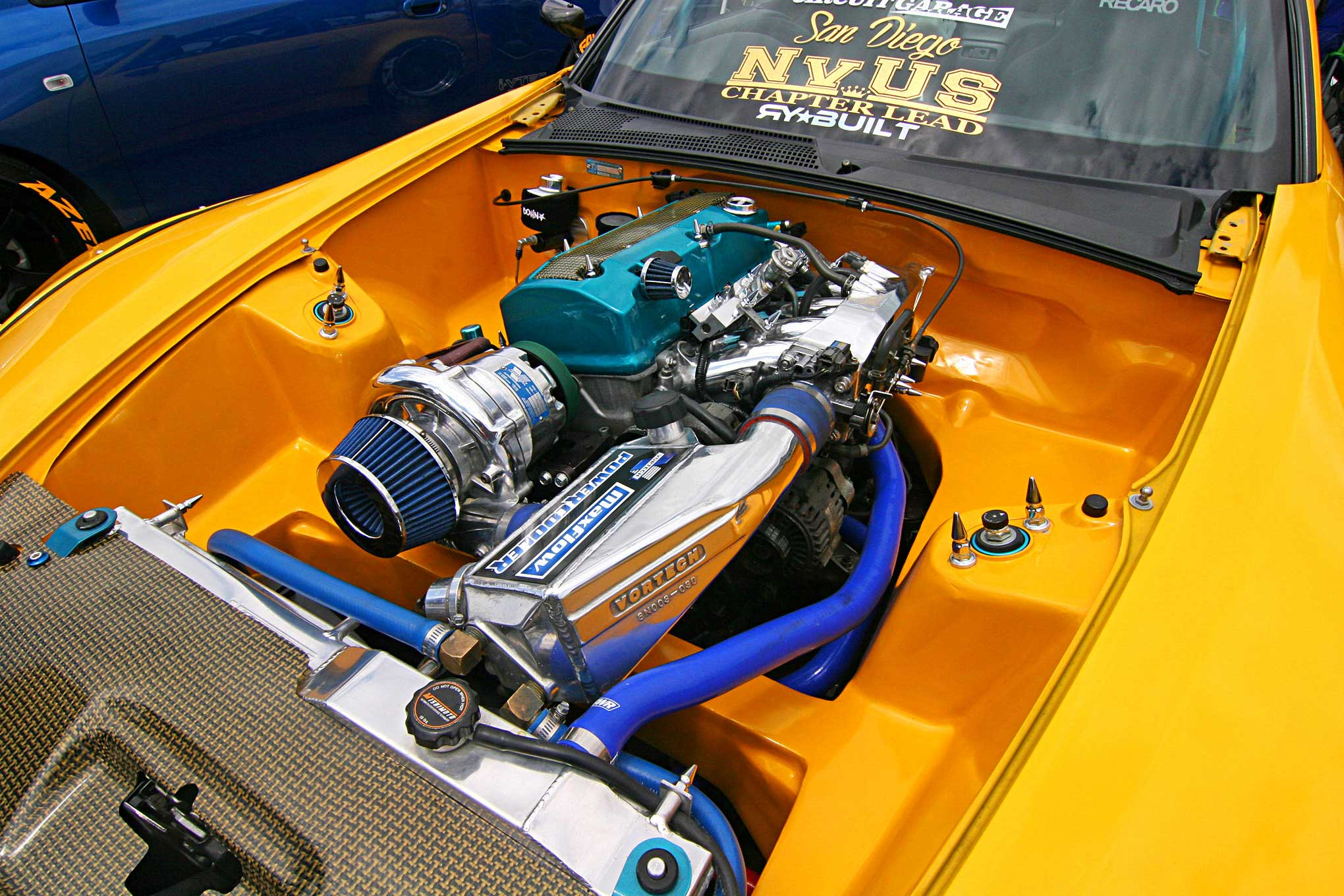 your guide to a proper shaved and tucked bay Turbo Engine Bay