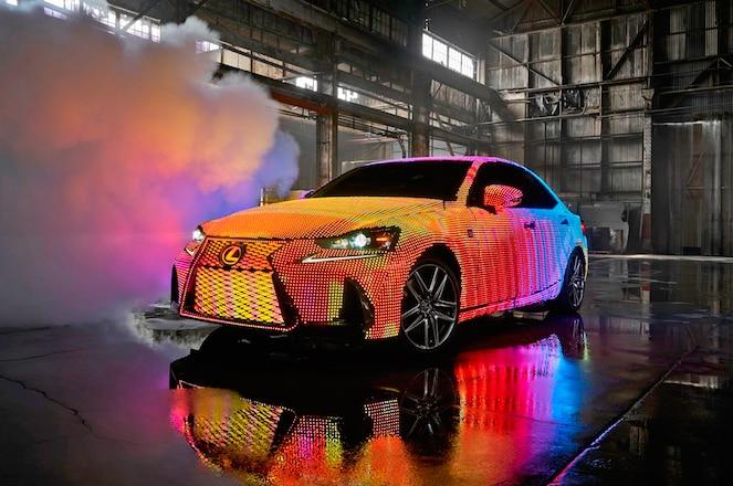 Lexus LIT IS front three quarter