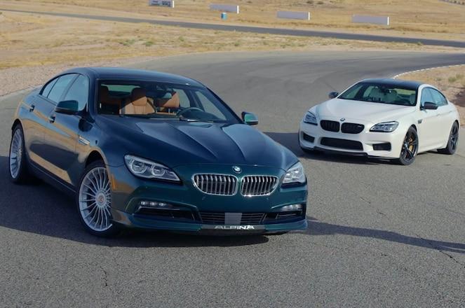 BMW M6 Gran Coupe and Alpina B6 3