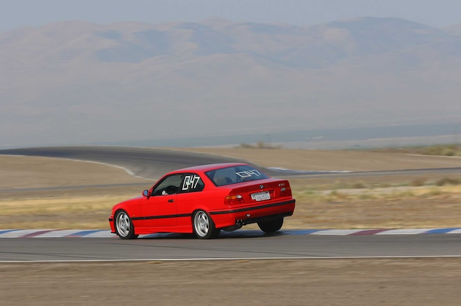 Project Bmw E36 M3 Buttonwillow Raceway