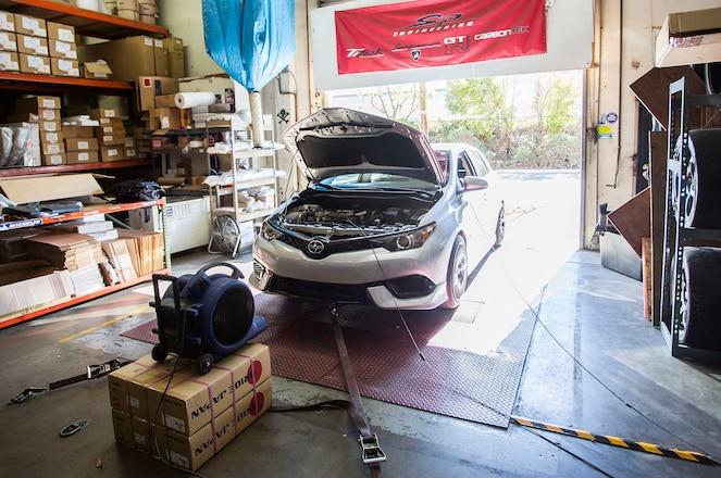 2016 Scion iM DC Sports Intake, Header, & Strut Bar Install