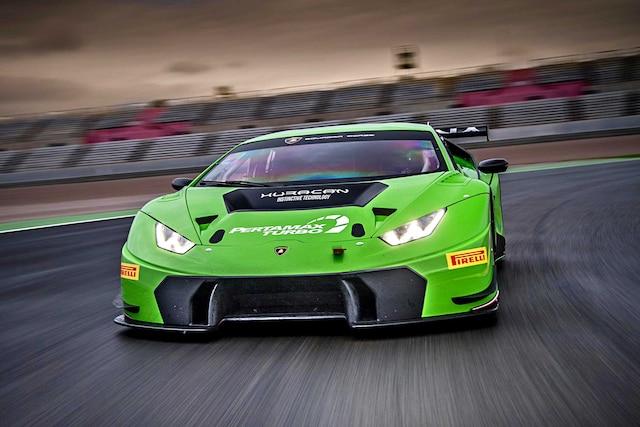 2016 Lamborghini Huracan Gt3 Racing Bull