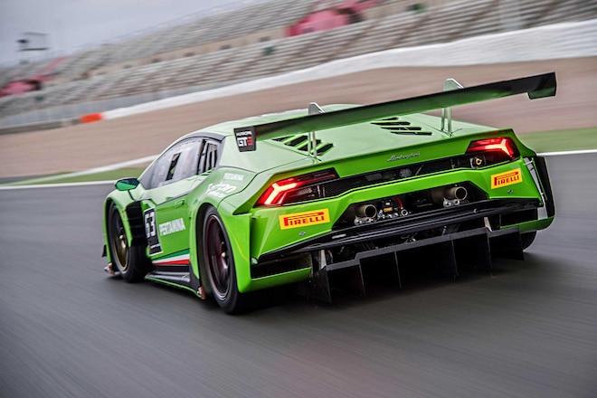 2016 Lamborghini Huracan Gt3 Rear Bumper