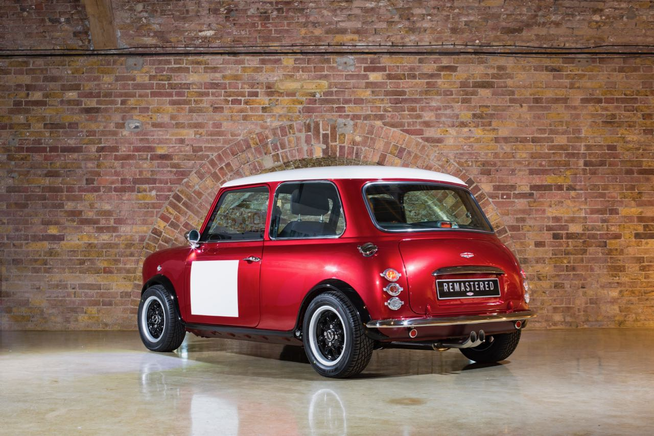 David Brown Automotives Mini Remastered Reimagines Classic Mini