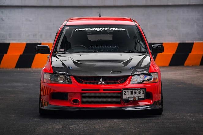 Mitsubishi Evo Ix Wagon Front Fascia