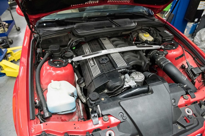 Project 1999 E36 Bmw M3 Engine Bay
