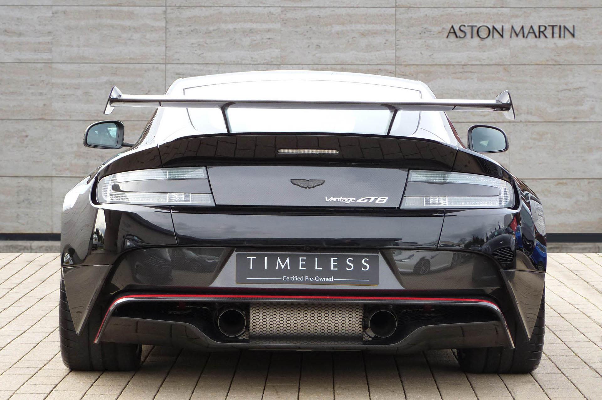 Rare Aston Martin Vantage Gt8 Goes On Sale