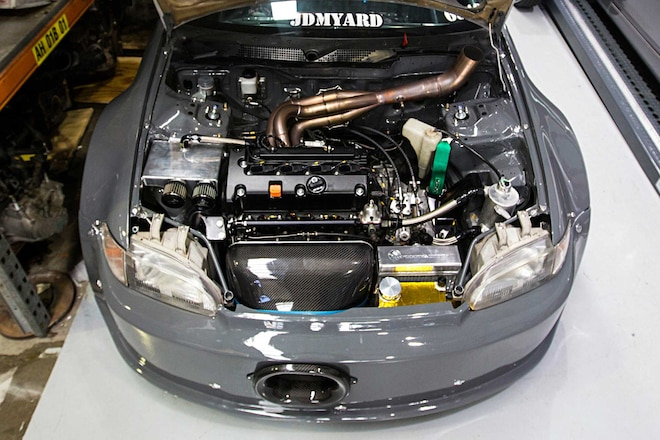 1992 Honda Civic Supercharged K Series Motor