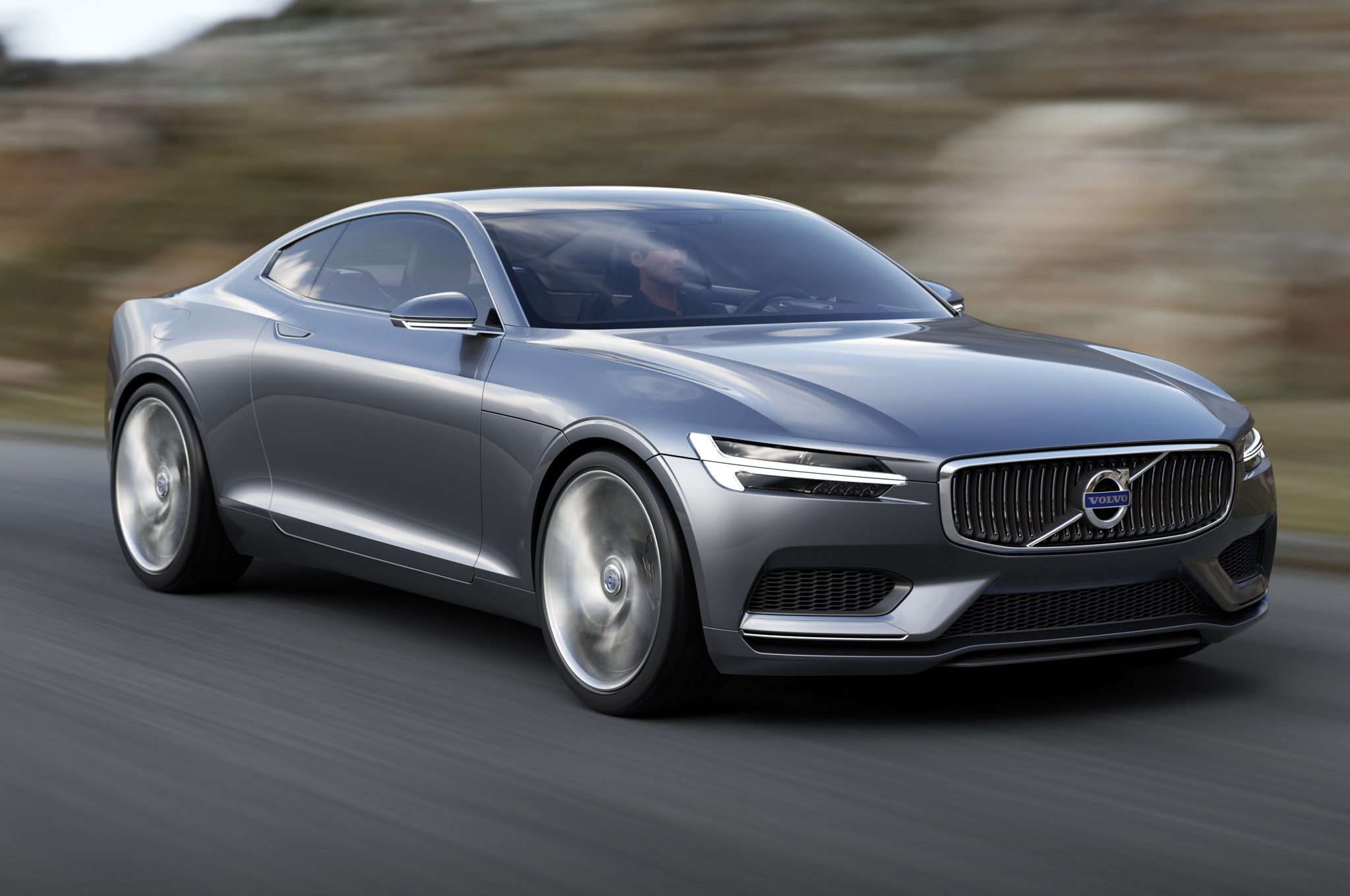 Volvo Concept Coupe Front Three Quarter In Motion 052