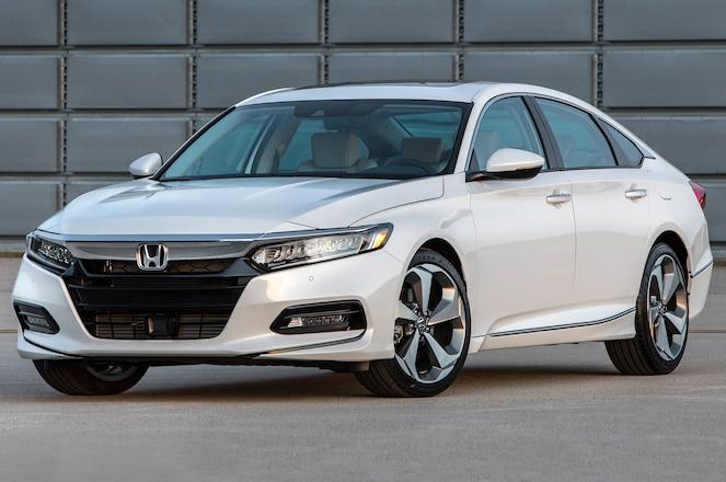 2018 Honda Accord Touring in white