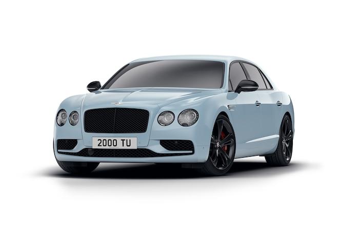Bentley Flying Spur V8 S Black Edition front