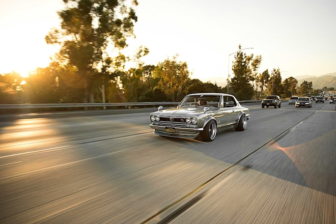 1971 Nissan Skyline 2000 GT X Koito Headlights