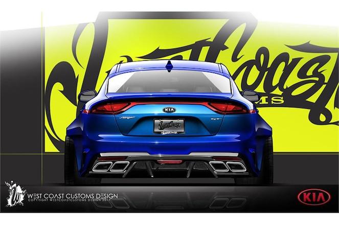 Kia Stinger GT concept for SEMA