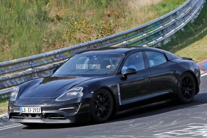 Porsche Mission E track 1