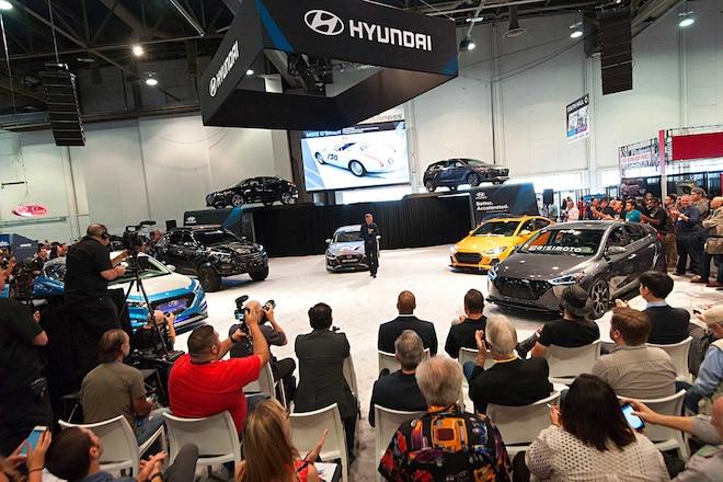 Hyundai At SEMA 2017 Hyundai Booth