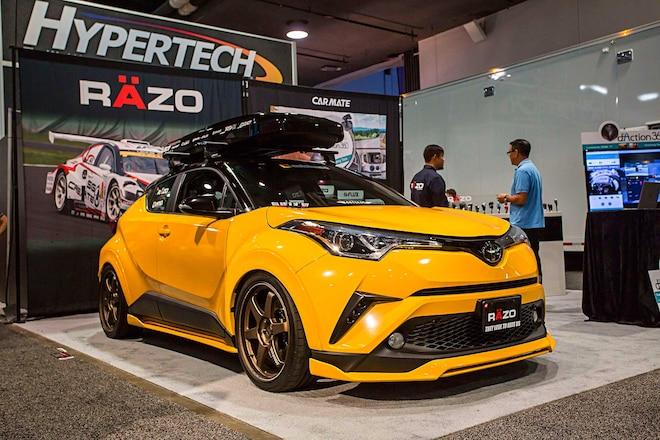 2018 Toyota CHR SEMA 2017