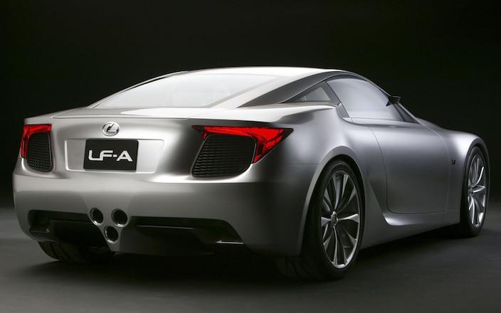 Lexus LF-A Supercar - LF-A Production Version To Drop At '09 Tokyo Motor Show